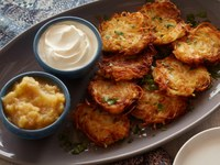 A very traditional potato latke / potato pancake recipe even your mother would love