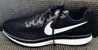 Christening my new pair of Nike Pegasus running shoes