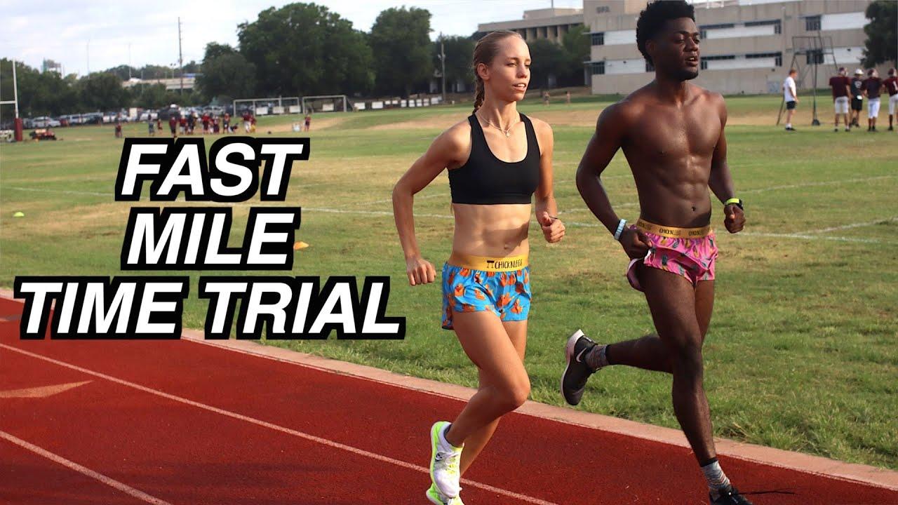 Elite Jogging Vlogger Jamison Michael has a pretty posse on Jami's Review