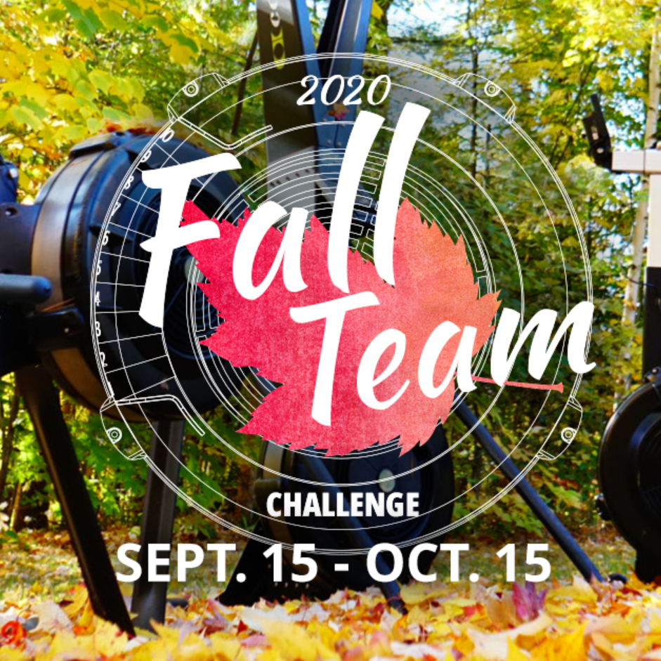 Final Numbers for my 2020 Concept2 Fall Team Challenge