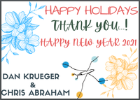 Happy holidays and happy new year from Dan and Chris!