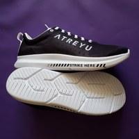 I finally got my feet into a pair of Atreyu running shoes