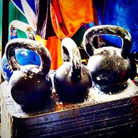 I had been letting tech and logging get in the way of my kettlebell swings