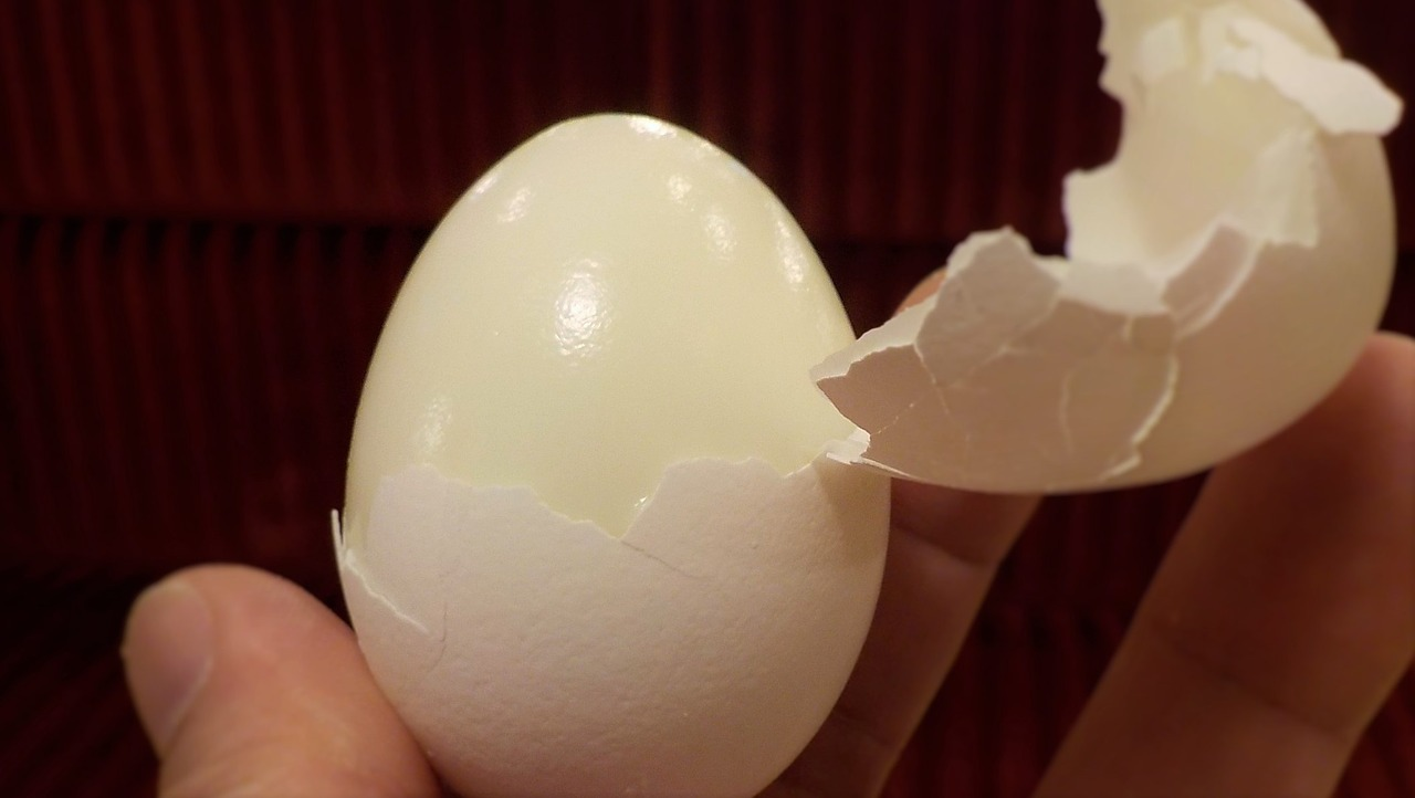 My favorite (hard) boiled egg recipe is all about the steam