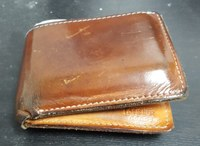 My giant wallet could be giving me sciatica!