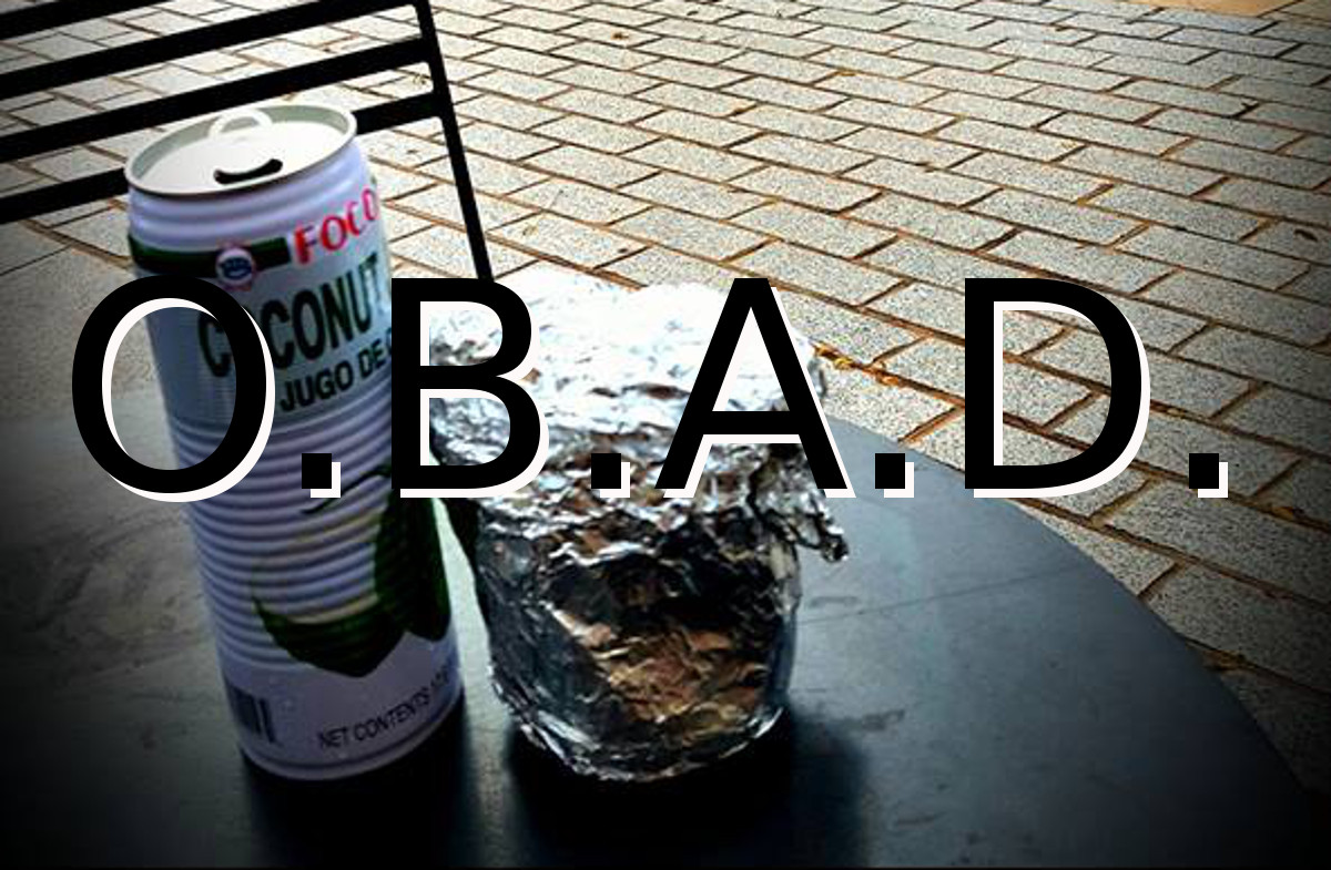 My One Burrito a Day (OBAD) One Meal a Day (OMAD) Diet