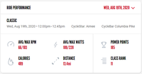 My second first day back at CYCLEBAR Columbia Pike was great!