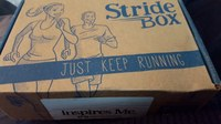 Review of StrideBox subscription box for runners