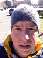 Running: Mon, 23 Mar 2015 10:16:48: Slow. Tough. Uphill. Cold. Good.