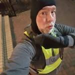Running: Mon, 8 Feb 2016 22:10:45: I look like a total geeky dork