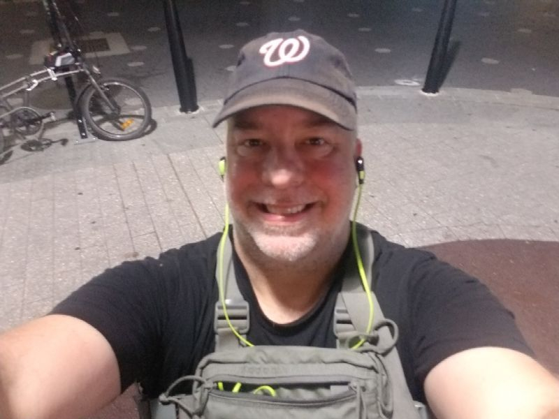 Running: Sun, 29 Jul 2018 20:02:07: 3-miles slow jogging