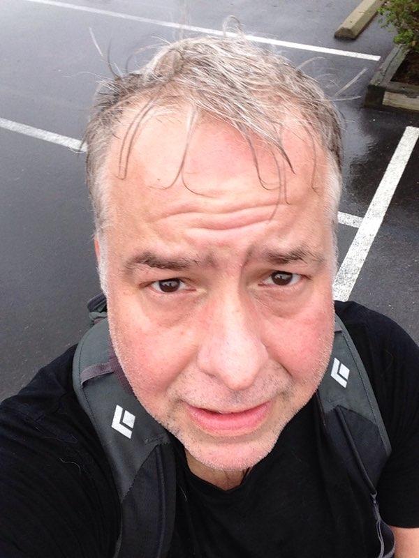 Running: Tue, 14 Apr 2015 09:52:04: A little wet