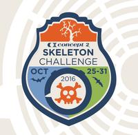 Skeleton Crew Challenge today through Halloween