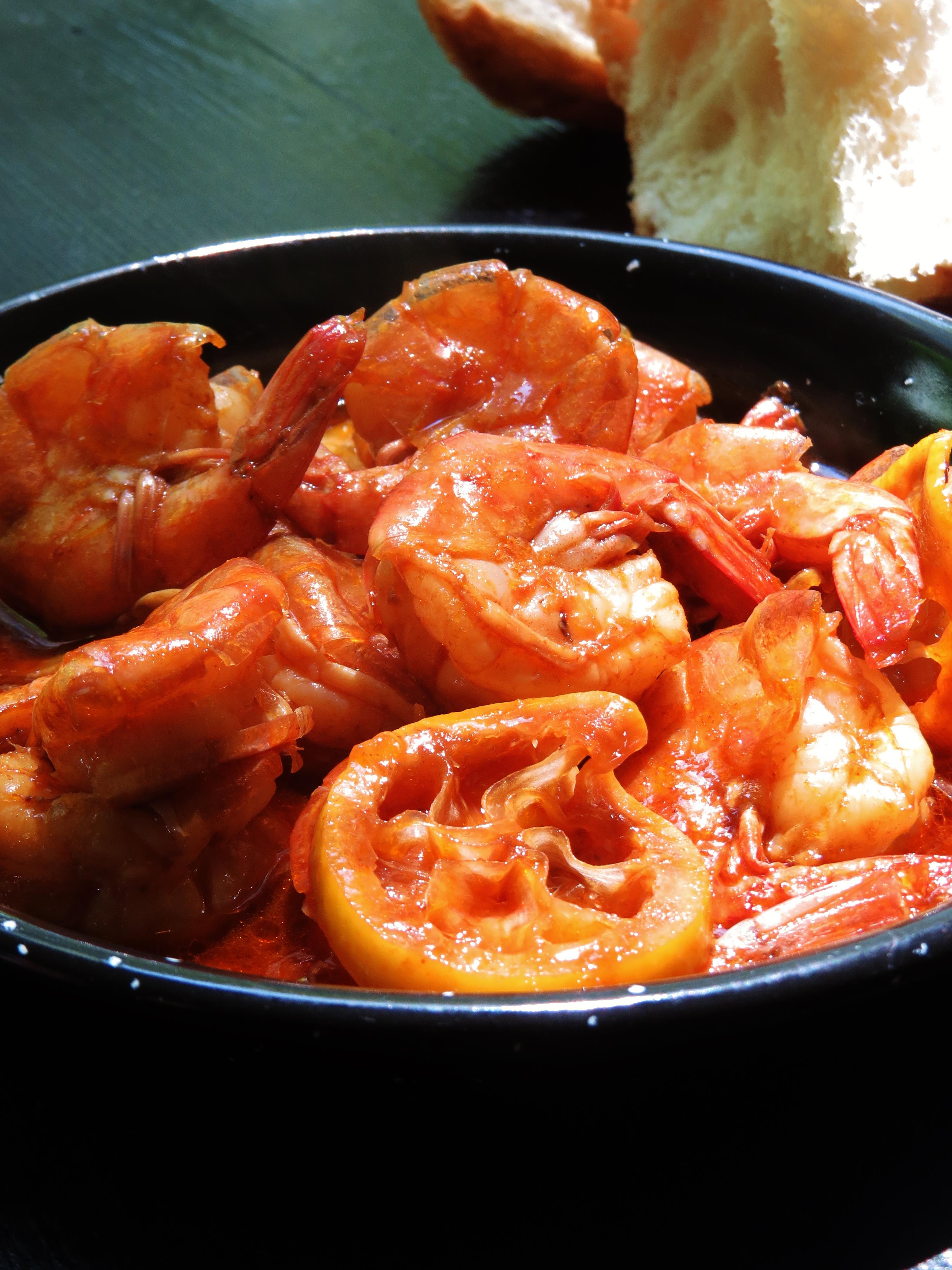 Spicy new orleans shrimp recipe