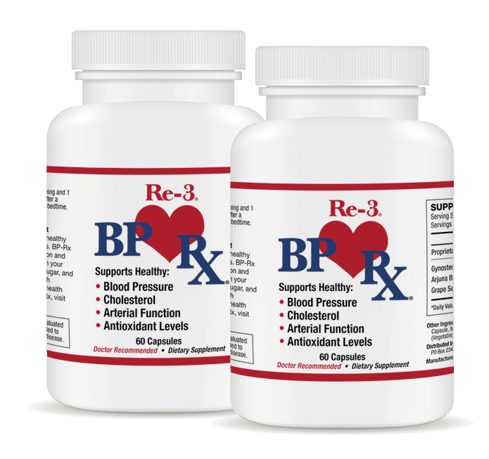 Trying BP-Rx by Re-3 to supplement my high BMI, hypertension, and cholesterol treatments