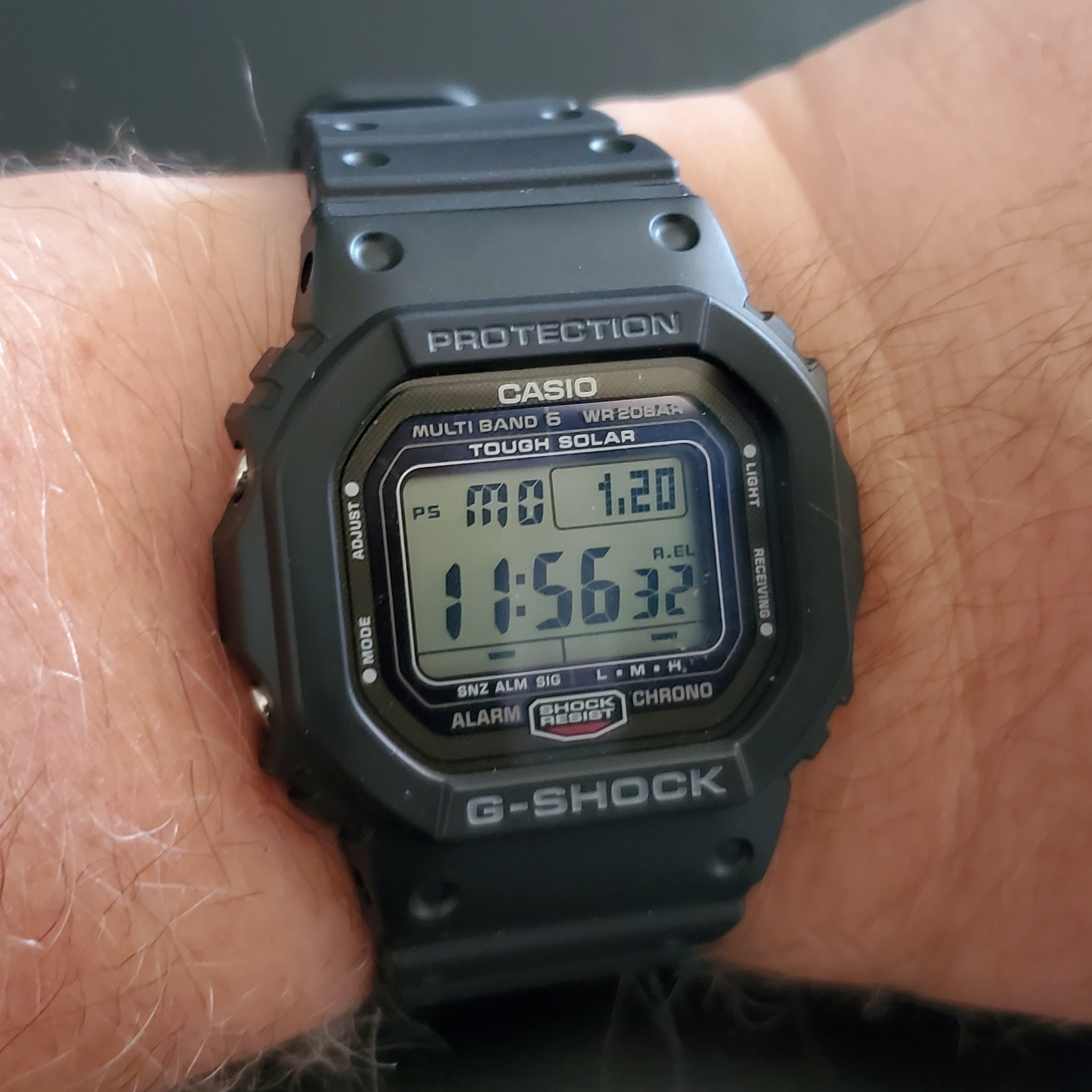 Turns out my perfect watch was always a Casio G-Shock GW-5000 Square