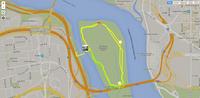 Two laps around Roosevelt Island