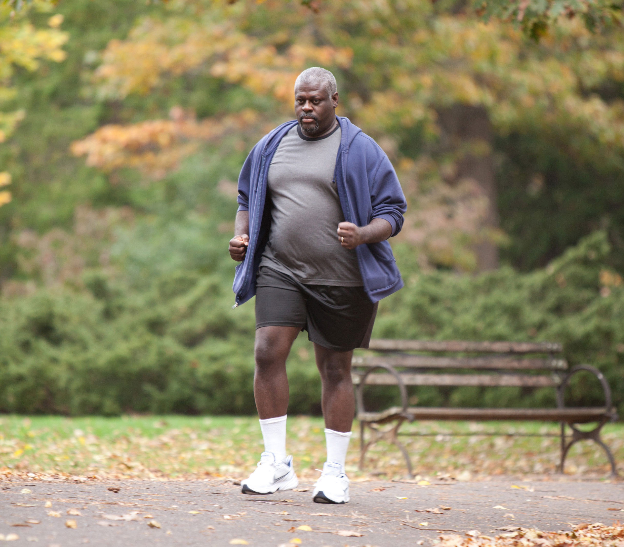 Walking really is the absolutely perfect adaptive exercise for us heavy people!