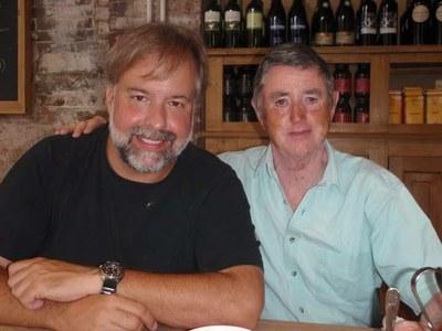 Kiwi White and Chris Abraham
