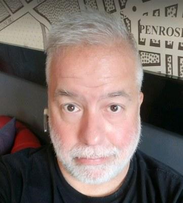 Self Portrait of Chris Abraham, August 2019