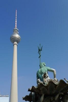 Fernsehturm Berlin und Neptun
