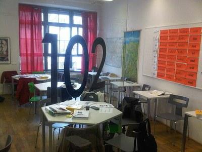 My Goethe-Institut Berlin Classroom