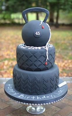 Kettlebell Cake