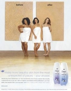 "Dove ""before after"" campaign"