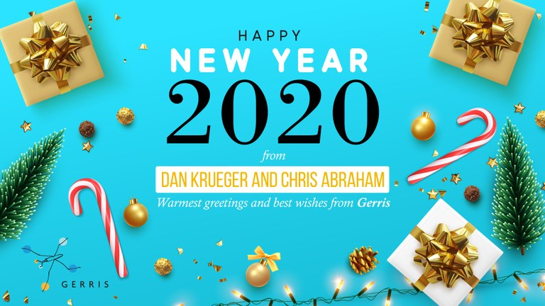 Happy New Year and an amazing 2020 from Gerris Corp