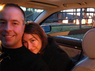 Chris Abraham and Wendy Gottlieb