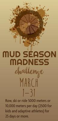 2018 Concept2 Mud Season Madness Challenge