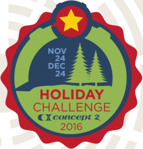 concept2 holiday challenge 2016