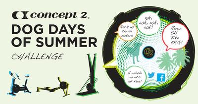 Concept2 Dog Days Challenge 2019