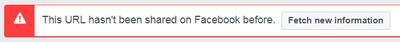 facebook developer open graph debugger
