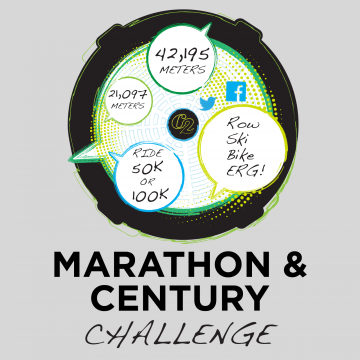 Concept2 Global Marathon and Century Challenge 2019