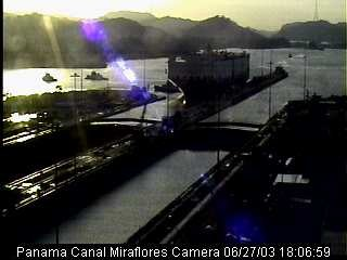 Webcam: Kinship II in Panama Canal