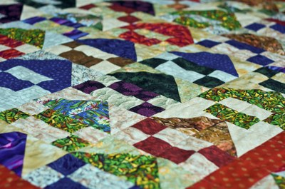 Patchwork quilt stitch your marketing website tightly together