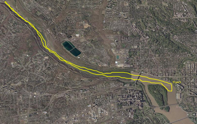 Sculling Route