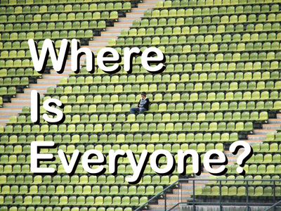 Where is Everyone -- You Need to Rely on Influencer Marketing